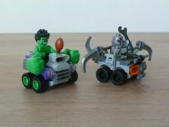 LEGO MARVEL SUPER HEROES 76066 Mighty Micros Hulk vs Ultron (Totobricks) Tags: lego instructions minifigs superheroes hulk marvel ultron minifigures totobricks mightymicros hulkvsultron lego76066