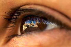 """Vista"" sull'Arsenale (Shion78) Tags: venice italy macro reflection eye ex italia sigma occhi venezia riflessi arsenal occhio dg arsenale 70mm sigmadgex70mm pentaxart pentaxk5"