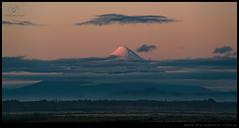 Volcan Osorno al atardecer