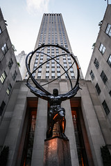 The Rock (ax.stoll) Tags: new york city travel urban usa statue united center states rockefeller urbex