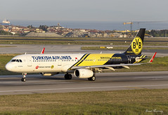 Turkish Airlines (Borussia Dortmund Livery) A321-200 TC-JSJ (birrlad) Tags: colour berlin turkey airplane airport ataturk taxi aircraft aviation airplanes istanbul international airline airbus airways airlines scheme departure ist takeoff runway decals turkish airliner titles departing winglets tegel livery taxiway a321 borussiadortmund a321231 a321200 sharklets tcjsj tk1727