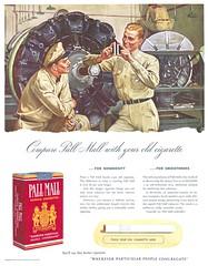 Pall Mall - 19401214 Post (Jon Williamson) Tags: history vintage advertising ad vintageadvertising vintagead vintascope