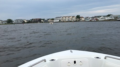 Ocean City Md. time lapse video through the canals.