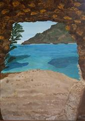 Insel Spinalonga, Kreta (manu1362) Tags: spinalonga kreta insel meer wasser acryl acrylgemälde felsen strand