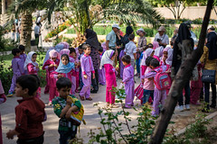 Iran (yeaidgah) Tags: iran shiraz kids school dress color pink hafez tourist