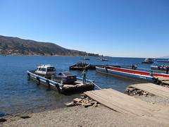 """Trajet Copacabana-La Paz: bac pour traverser le Lac Titicaca <a style=""""margin-left:10px; font-size:0.8em;"""" href=""""http://www.flickr.com/photos/127723101@N04/28568356846/"""" target=""""_blank"""">@flickr</a>"""