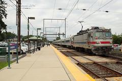 SPAX AEM-7 #2304 @ Langhorne, PA (Darryl Rule's Photography) Tags: aem7 august buckscounty catenary eastbound langhorne pa passenger pennsylvania reading readingrailroad septa summer train trains