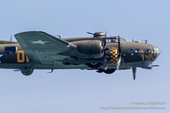 B17 Sally B (Ashley Middleton Photography) Tags: b17 aircraft england unitedkingdom airshow eastsussex events sally bb17flyingfortress sallyb eastbourne boeing europe