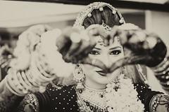 Love (ALi Rixvi) Tags: love heart wedding pose bride shape middleeastern style bnw monochrome monochromatic 500px flickr tone weddingpose shot click