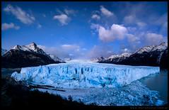 Crepusculo Glaciar Perito Moreno