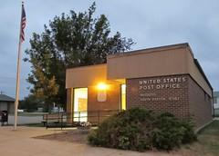 Post Office 57353 (Iroquois, South Dakota) (courthouselover) Tags: southdakota sd postoffices kingsburycounty iroquois eastriversouthdakota