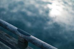 across the sky (N.sino) Tags: m9 summilux50mm bridge woodbridge pond sky reflection japanesegarden