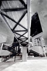 Way for sky 2 (Giampiero Ridella) Tags: genoa genova cortelambruschini blackandwhite build biancoenero structure construction monocrome