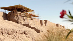 Reconstruction of Arg-e Bam Citadel • A City Reborn • Bam • IRAN-18 (OXLAEY.com) Tags: world heritage site earthquake iran citadel unesco bam kerman reconstruction earthen arge