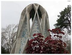 Kayyam tomb (Ebrahim Baraz) Tags: khayyam neyshabour  baraz   ebrahimbaraz  khayyamtomb