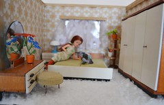 Vintage dollhouse (pe.kalina) Tags: scale miniature doll dolls furniture pamela 112 dollhouse furnitures