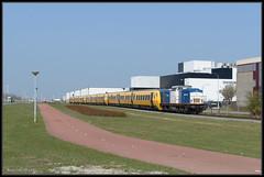 09-04-2015, Amsterdam Houtrakpolder, VR 203-1 + NSR DM'90 (Koen langs de baan) Tags: amf act vr hrp dm90 volkerrail 51920 houtrakpolder