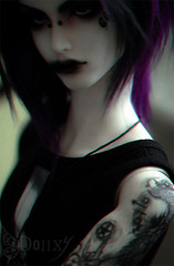 Let's drown (The Funerals.) Tags: rock ball dark punk doll dolls gothic emo handsome emos bjd yaoi abjd jointed bl