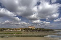 Sado (PITUSA 2) Tags: naturaleza portugal paisaje cielo nubes setúbal sado riosado mareabaja molinodemarea pitusa2 elsabustomagdalena mouriscada
