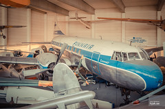 Finnair Convair CV-440-40 Metropolitan OH-LRB (hjakse) Tags: museum finland helsinki finnland finnair vanda fi helsingfors metropolitan hel vantaa convair nyland cv440 efhk linjeflyg ohlrb flygmuseum suomenilmailmuseo