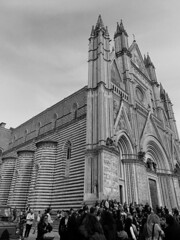 Orvieto Cathedral B/W - April 2015 (constef88) Tags: blackandwhite bw italy white black italia sony april umbria orvieto dsch300 sonydsch300
