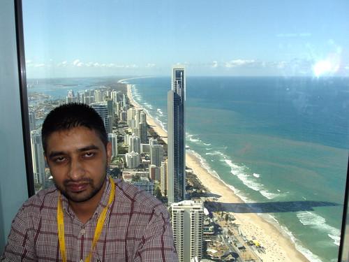 Director Mr. G.S.Kang at Sky Tower, Gold Coast Australia