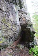 vrani skala (dinapunk) Tags: forest vraniskala cz tree leaves nature woods rock stone shoe