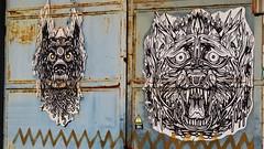 Dzia Krank / Schipperskaai - 14 apr 2015 (Ferdinand 'Ferre' Feys) Tags: pasteup gent belgium streetart graff graffitiart graffiti artdelarue urbanart belgique belgië ghent gand dzia dziakrank urbanarte arteurbano ferdinandfeys