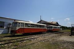 Ferkeltaxes en la vieja estacin (lezumbalaberenjena) Tags: clara railroad station train cuba villa villas estacin ferrocarril 2015 camajuani ferkeltaxe camajuan
