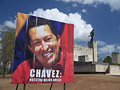 Our best friend (nisudapi) Tags: monument memorial cuba billboard hugochavez mausoleum santaclara che bestfriend chavez cheguevara 2015 mejoramigo nuestramejoramigo