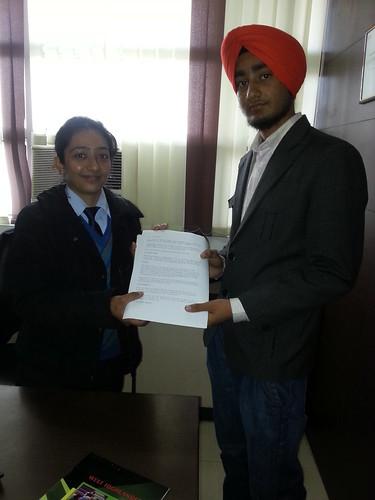 Counselor handling Australia Student visa to Fateh Singh