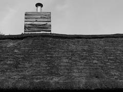 P5070774 (linx.lk) Tags: rund strohdach schwarzweis johannadamsmhle