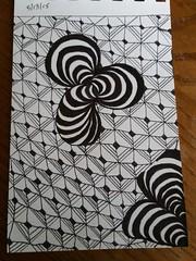 Weekly challenge #217  #zentangle #art #doodle #creative (rhonda.winchell) Tags: art creative doodle 217 zentangle