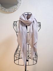 Banana Leaf Shawl (Marguerite*) Tags: knitting knit shawl ravelry