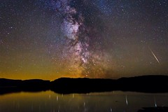 Wide angle milky way shot taken in Scotland. on the isle of Mull (oldkentucky85) Tags: longexposure reflection night rural stars scotland countryside wideangle galaxy astrophotography isleofmull clearsky milkyway darkskies ulva canonllens ioptron
