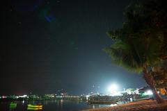 Mae Haad Pier (deletio) Tags: light sea night stars thailand kohtao 2016 d700 changwatsuratthani tambonkotao