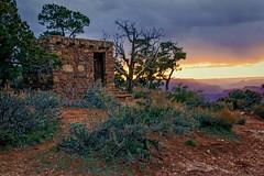 Arizona Sunset (mnenson) Tags: travel arizona landscapes unitedstates grandcanyon sunsets places geography canyons grandcanyonnationalpark