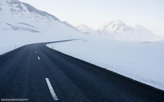 The North (RobGrahamPhotography) Tags: road winter mountain snow mountains canon landscape landscapes iceland outdoor arctic myvatn routeone northiceland canon6d