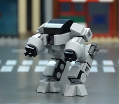 The Future of Law Enforcement (Hobbestimus) Tags: movie toys lego 80s robocop ed209
