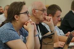 Pierwszy dzie konferencji (Borys Kozielski) Tags: wikipedia wikimedia coference wikimediapolska