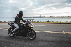 DSC_7115 (Steven Lenoir) Tags: ocean sea marina bay sandiego sd yamaha r1 sportbike harborisland dab superbike supersport bayfront streetbike 1000cc yamahar1 dabbing rollingshot teamyamaha