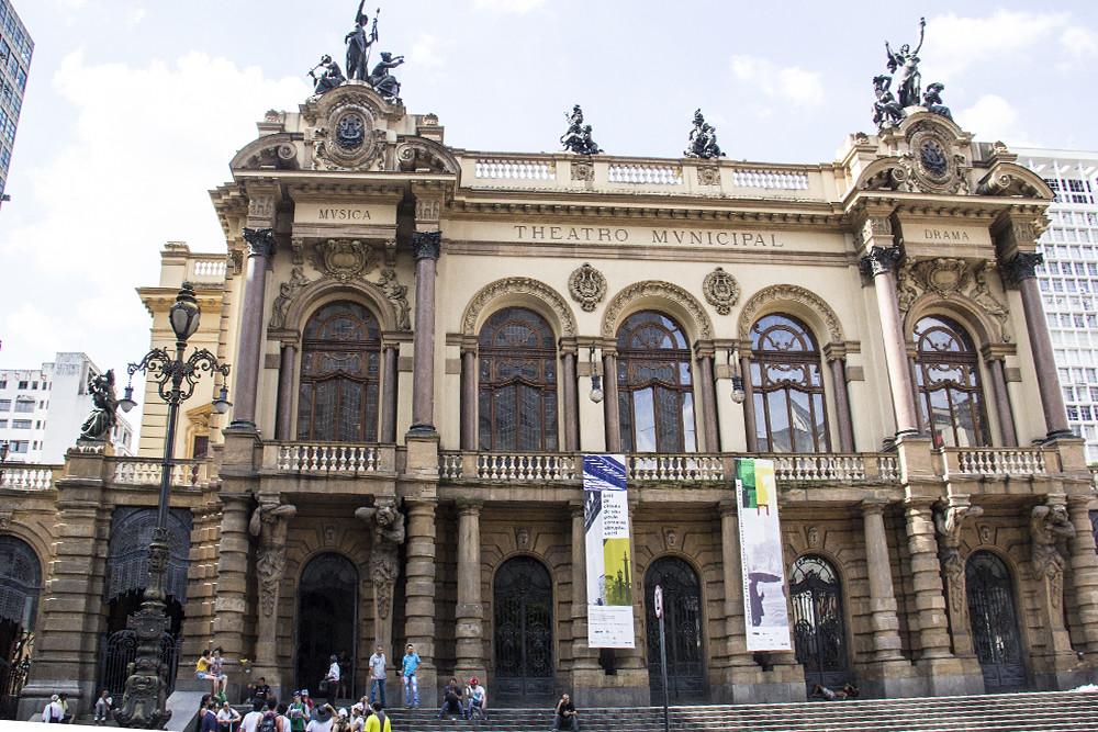 Tour Centro Histórico de São Paulo - Teatro Municipal