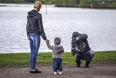 rannalla (Markus Pylkknen Photography) Tags: camera blue woman lake water grass canon finland lumix child mother musicvideo canon6d stillshooting brunobinch