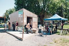New Columbia Bike Repair Hub (communitycyclingcenter) Tags: kids oregon portland bicycling volunteering repair bikeride repairs youthculture realpeople bikeculture bikesafety communitycyclingcenter bikehub youthactivites