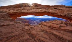 Mesa Arch 01 (Tom Tallant) Tags: sun tom landscape utah nikon arch canyon lands rise masa tallant d810