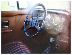 '78 MG-B (daveelmore) Tags: sunlight car bokeh interior convertible mg dash vehicle 1978 dashboard steeringwheel mgb driversseat lumixleicadgsummilux25mm114