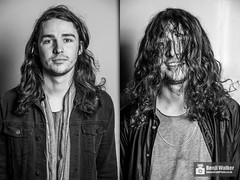 Seb - Eva Plays Dead (liveandloudphotography) Tags: portrait bw white black rock metal dead drums promo eva before walker drummer after plays seb southampton press benji joiners