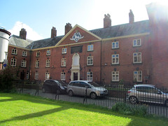 Hosyers Almshouses (pefkosmad) Tags: old uk england building heritage history architecture town shropshire ludlow