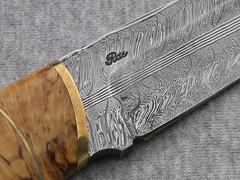 044303-5 (thegoodstuffshop) Tags: outdoor knives knivper thegoodstuffshop forwardinlife naturgalleriet huntingknives bjarnerasmussen damascusforgedknifeblades danishknifemaker customhandmadeknives