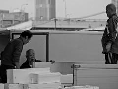 IMGP8140 (SY Huang) Tags: bw fish japan tokyo market tsukiji   fishmarket  tsukijifishmarket